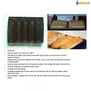 subway bread mould size